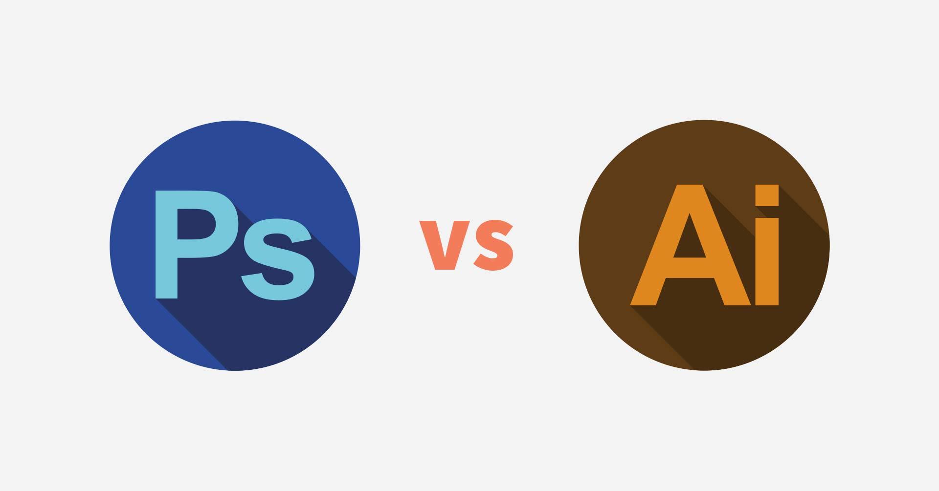 Sự khác biệt cơ bản giữa Photoshop và Illustrator