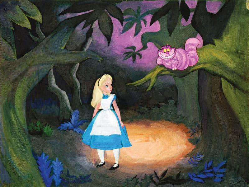 Cuộc hội thoại giữa Alice và mèo Cheshire