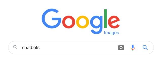 Tìm kiếm chatbots trên Google Image