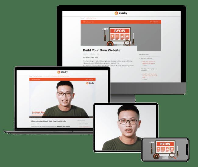 Đăng ký khóa học build your own website