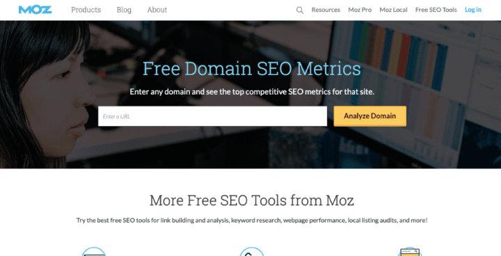 công cụ SEO Moz free