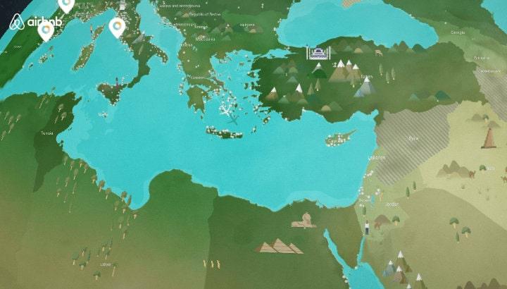 bản đồ airbnb map
