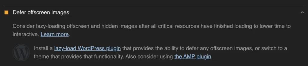 defer offscreens images