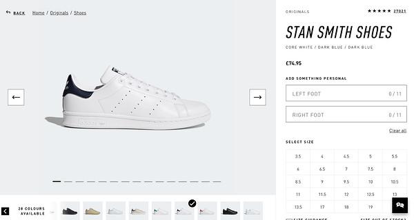 Stan Smith Adidas store
